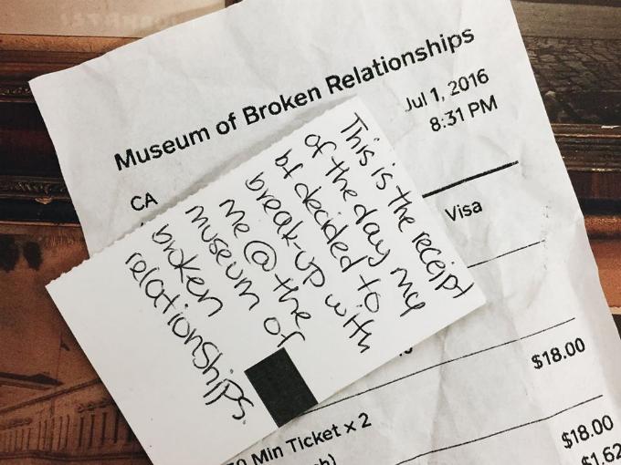 Bảo tàng thất tình ở Mỹ mà không cặp đôi nào muốn tới - 1