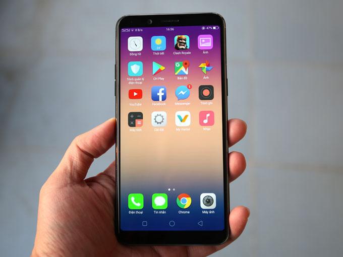4 điểm ấn tượng của smartphone F5 - 1