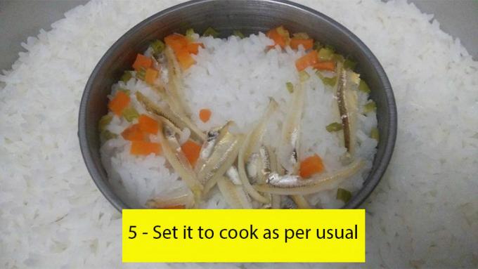 Cách nấu 2 trong 1 giúp mẹ tiết kiệm thời gian và vẫn đảm bảo dinh dưỡng.