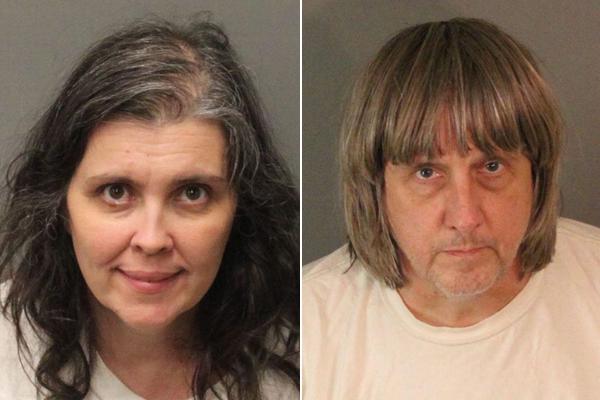 Vợ chồng nhà Turpin sẽ phải hầu tòa vào 18/1. Ảnh: Reuters