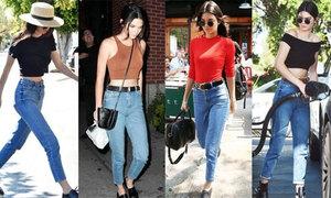 Diện đủ kiểu quần jeans sexy như Kendall Jenner