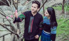 Hồ Quang Hiếu nắm tay 'gái bản', quay MV ở Tây Bắc