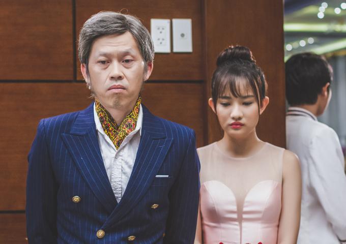 Diễn viên trẻThanh Vy có dịp diễn xuất cùng nghệ sĩ gạo cội trên màn ảnh rộng.