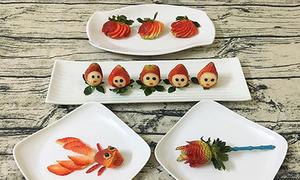 Cô gái Phú Thọ trang trí bữa cơm hàng ngày 'đẹp chẳng nỡ ăn'
