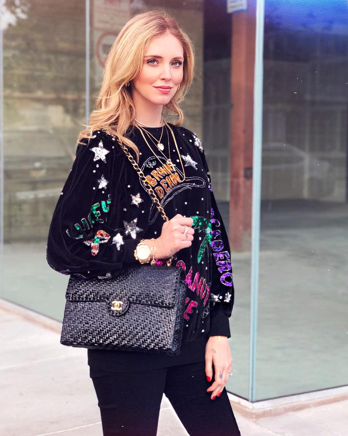 Fashionista Italy mang bầu vẫn sành điệu