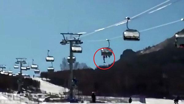 Sự cố diễn ra tại khu nghỉ dưỡng trượt tuyết nổi tiếng Thaiwoo.