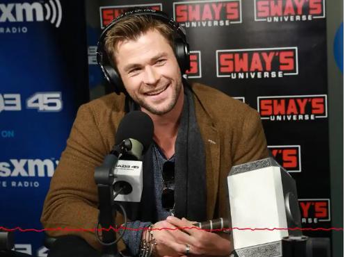 Chris Hemsworth trong buổi phỏng vấn hôm thứ 2.
