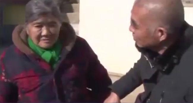 Bà Lu đã trở về nhà sau 23 năm lưu lạc.