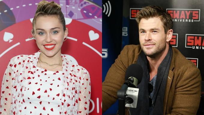Miley được Chris Hemsworth và gia đình anh quý mến.