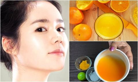 2 công thức làm trắng da cấp tốc tại nhà với cam và chanh