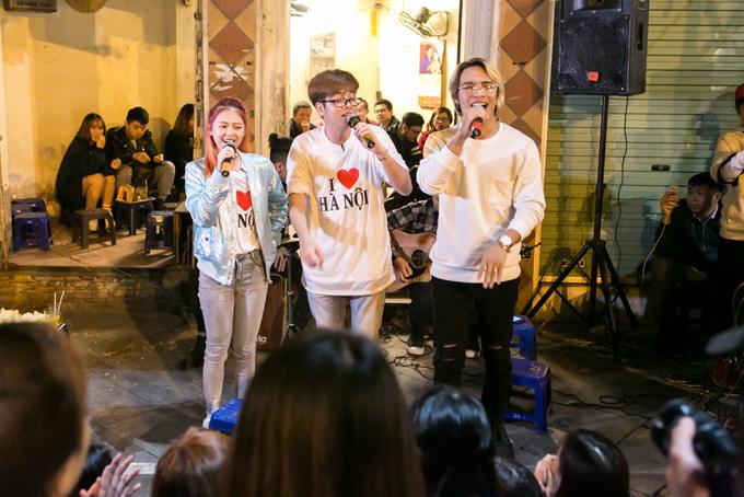 Bùi Anh Tuấn tự tay làm phở cho Liz Kim Cương ăn - 9