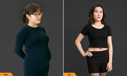 Nặng tới 90kg sau sinh, bà mẹ trẻ quyết giảm 30kg trước Tết