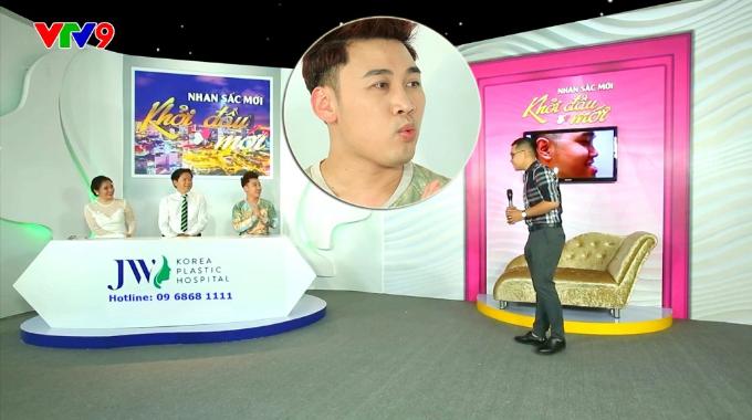 Ca sĩ Don Nguyễn bất ngờ vì vẻ đẹp trai của anh chàng từng khổ sở vì móm