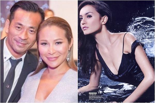 Avin Chau vẫn duy trì được tình cảm gia đình với Tuệ Linh (trái) dù ăn nằm với Liêu Bích Lệ và có với cô này 2 con. Tỷ Phú đưa vợ hai Bích Lệ sang Anh để tránh bị báo chí để ý, còn bà cả thì sống ở Hong Kong.