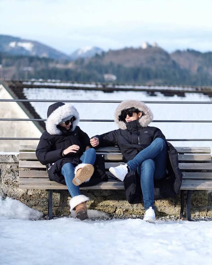 \'Hoàng tử phim Thái\' say mê chụp ảnh mùa đông Đông Âu