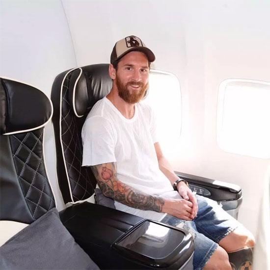 Phản lực của Messi có chế độ bảo hành 10 năm hoặc 10.000 giờ bay.