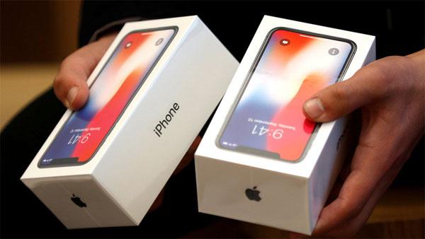 iPhone X, iPhone 8 và 8 Plus bán ế khiến đối tác cung ứng cũng lao đao
