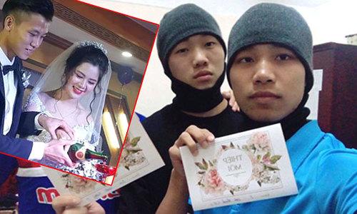 Cầu thủ U23 Việt Nam lỡ đám cưới Quế Ngọc Hải