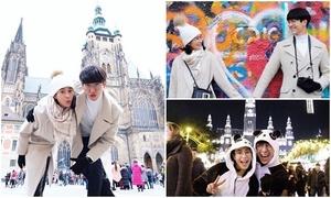 'Hoàng tử phim Thái' say mê chụp ảnh mùa đông Đông Âu