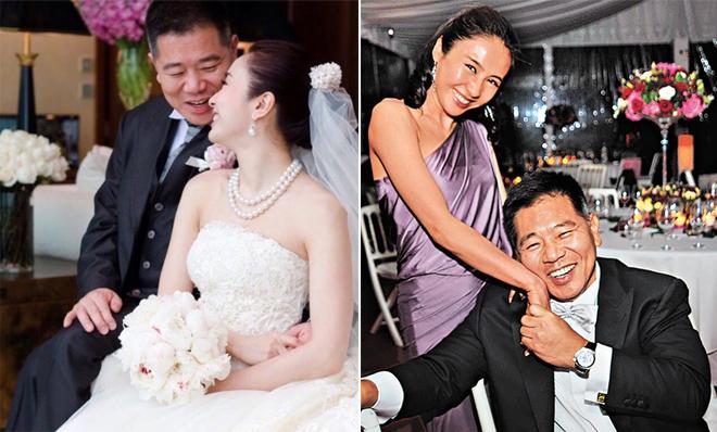 Lê Tư trong ngày cưới cách đây 9 năm.