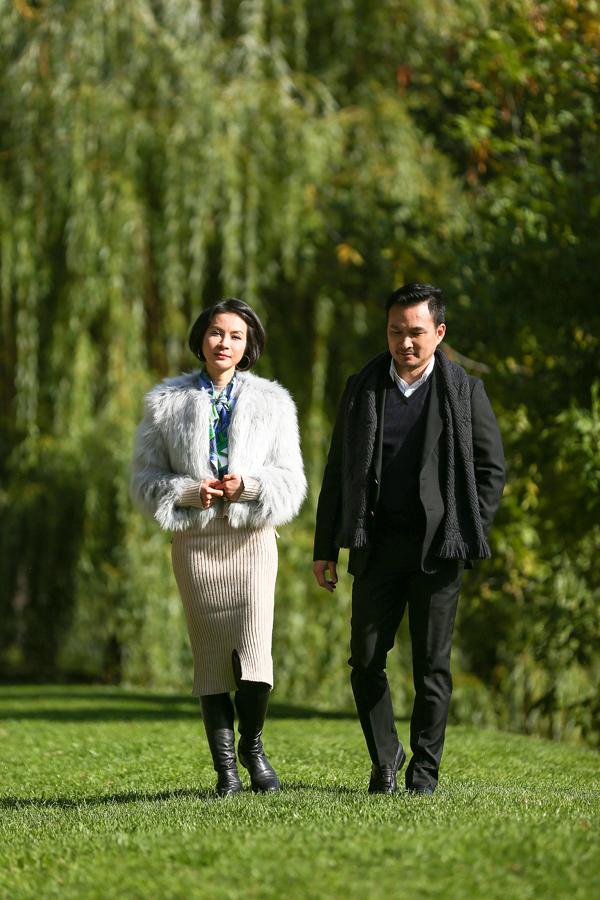 Tạo hình của Thanh Mai, Chi Bảo trong phim.