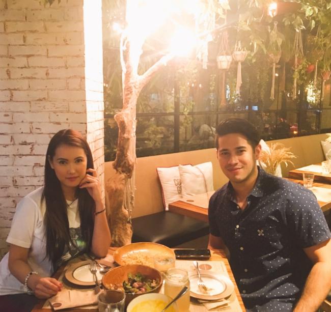 Maria Ozawa và bạn trai người Philippines.