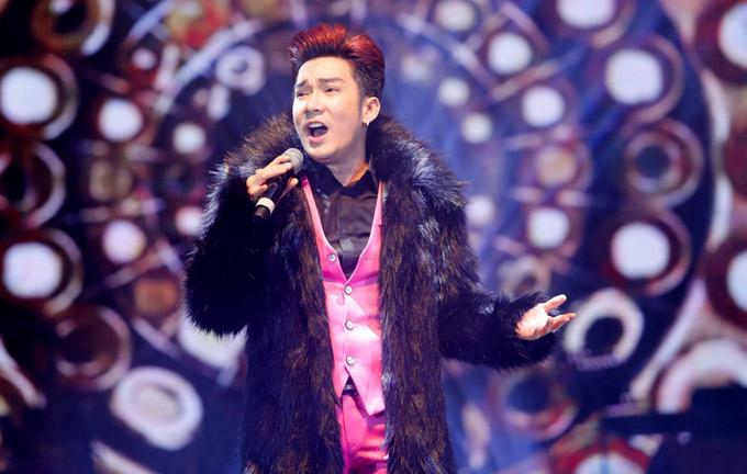 Quang Hà diện áo lông, khoe giọng hát đầy nội lực với Khúc thụy du.