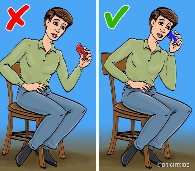 Khi bị đau bụng dưới. Lỗi thường gặp: uống thuốc giảm đau hoặc chống co thắt. Bạn thường được rỉ tai uống thuốc giảm đau để làm dịu cơn đau bụng dưới nhưng các bác sĩ khuyên không nên làm vậy. Nếu loại bỏ cảm giác này, bạn có thể bỏ qua những dấu hiệu của nhiều căn bệnh nguy hiểm, ví dụ viêm ruột thừa cấp tính hoặc tắc ruột. Lưu ý: Khi có cơn đau cấp tính ở bụng, hãy gọi điện cho bác sĩ ngay.