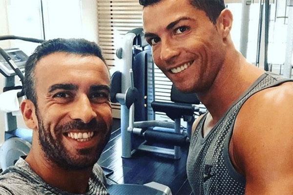 C. Ronaldo và bạn thân Ricardo Regufe