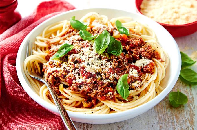 Món ăn hoàn toàn không xuất hiện ở Italy.