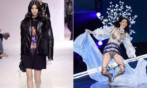Ming Xi tái xuất sau cú ngã sấp mặt ở Victoria's Secret Show 2017