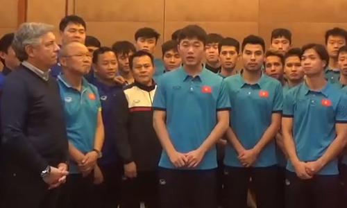Xuân Trường cùng đồng đội quyết tâm tạo thêm kỳ tích ở giải U23 châu Á