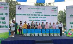 Nhãn hàng Giấy Sài Gòn thu gom 1,4 tấn giấy vụn để bảo vệ môi trường