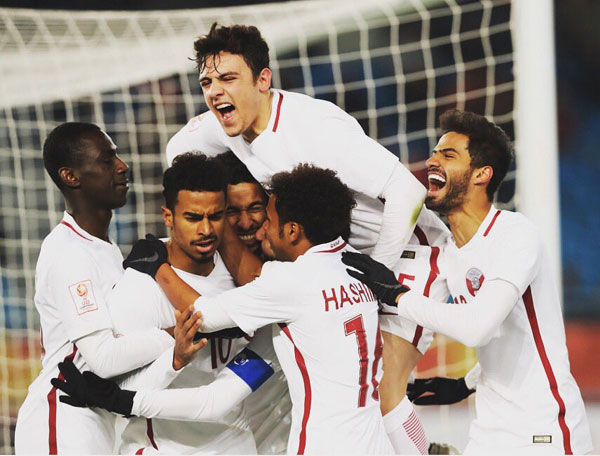 Hậu vệ Qatar