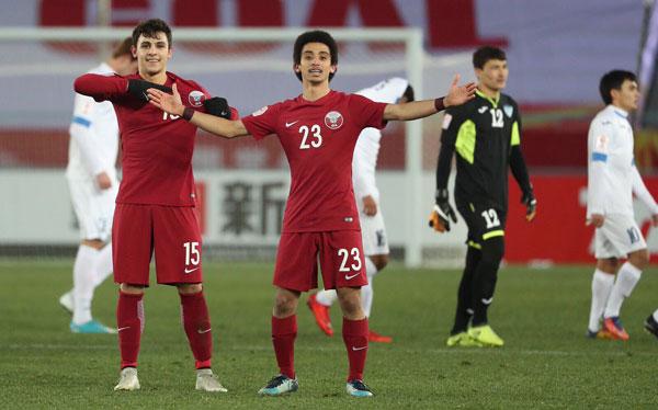 Chàng trai mang áo số 15 cũng góp mặt trong danh sách tuyển U23 Qatar tại AFC U23 Championship năm 2016.