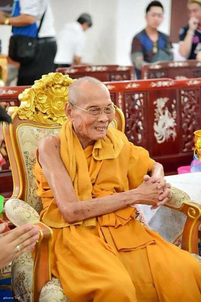 Nhà sư Pian khi còn sống. Ông là một nhà sư nổi tiếng được nhiều phật tử kính trọng, tôn sùng.