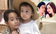 Vợ chồng Lưu Hương Giang hiếm hoi khoe ảnh rõ mặt con gái thứ hai