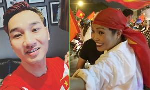 MC Thành Trung cởi đồ, Phương Thanh bật khóc khi U23 Việt Nam vào chung kết