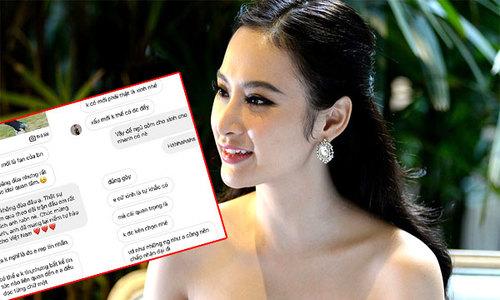 Thủ môn Bùi Tiến Dũng bị lộ tin nhắn 'đong đưa' Angela Phương Trinh