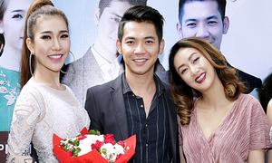Mai Quốc Việt sánh đôi vợ Việt kiều đi sự kiện
