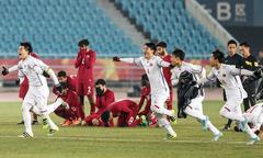 Những hình ảnh khó quên của U23 Việt Nam trong trận bán kết với Qatar