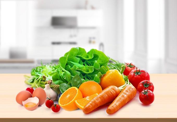 Các loại rau củ quả tốt cho đôi mắt.