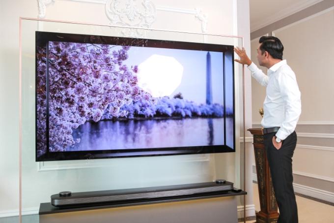 Công nghệ OLED của LG tái tạo được những hình ảnh sắc nét với màu đen sâu thẳm và độ tương phản tốt.