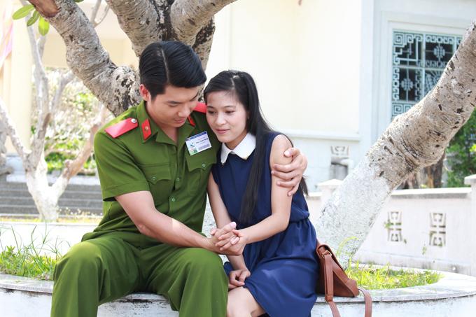 Trương Nam Thành và Nhung Kate trở thành người yêu của nhau trong phim mới.