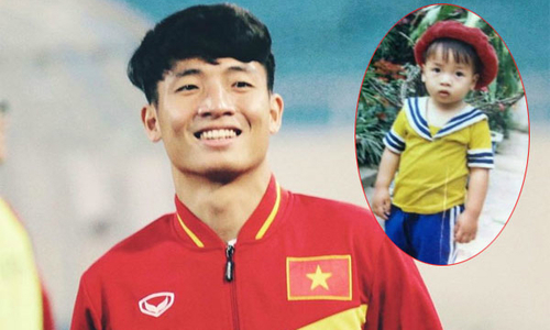 Ngày thơ bé của các người hùng U23 Việt Nam