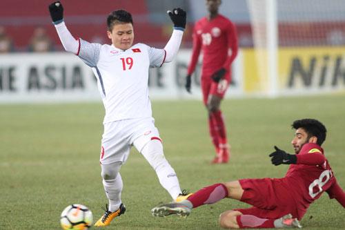 Tiền vệ người Hà Nội đã có 4 lần lập công tại giải U23 châu Á