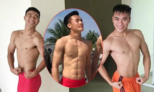 Bụng 6 múi 'đốn tim' fan nữ của cầu thủ U23 Việt Nam