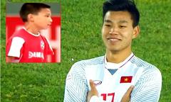 Vũ Văn Thanh thể hiện bản lĩnh trên sân bóng từ khi 11 tuổi