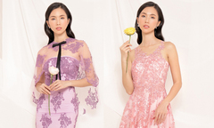 Váy ren dự tiệc giúp phái đẹp tôn nét gợi cảm