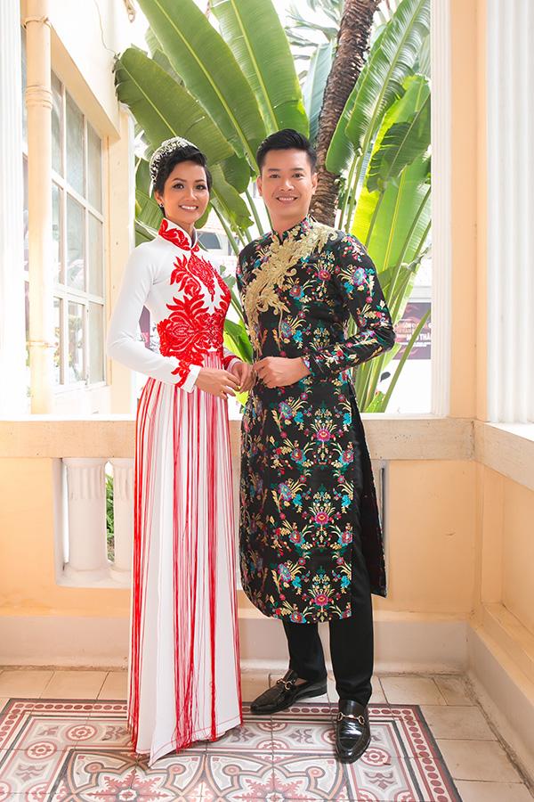 Hoa hậu HHen Niê hội ngộ siêu mẫu Hồ Đức Vĩnh - 3